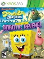 Portada de SpongeBob SquarePants Planktons Robotic Revenge Xbox 360 Region Free