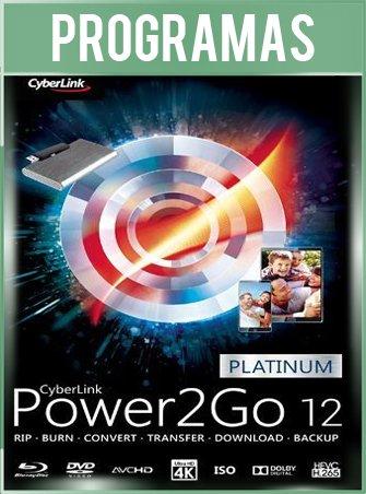 Power2Go Platinum Español Versión 12.0.1024.0