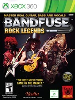 BandFuse Rock Legends Xbox 360 NTSC