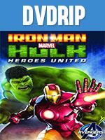 Portada de Iron Man y Hulk Heroes Unidos DVDRip Latino