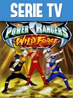 Portada de Power Rangers Fuerza Salvaje Temporada Completa Español Latino