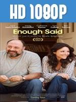 Enough Said 1080p HD Latino