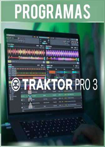 Traktor Dj Pro 3.2 Full Mezclador de Música