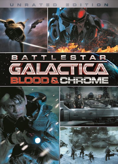 Battlestar Galactica Blood and Chrome DVDRip Latino