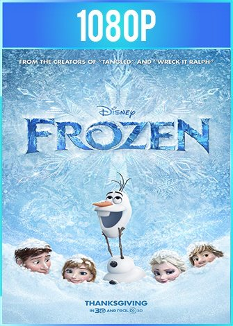 Frozen Una Aventura Congelada (2013) HD 1080p Latino Dual
