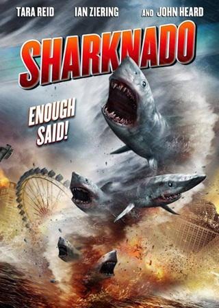 Tornado de Tiburones DVDRip Latino