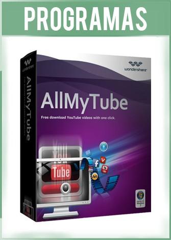 Wondershare AllMyTube Versión 7.4.5.0 Full Español
