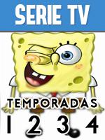Bod Esponja Temporada 1 2 3 y 4 Completa Español Latino Portada