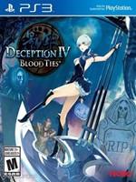 Deception IV Blood Ties Play Station 3 Región EUR