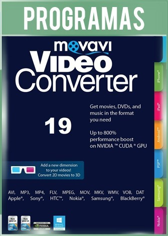 Movavi Video Converter Premium Version 19.1.0 Full Español