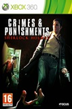 Crimes and Punishments Sherlock Holmes XBOX 360 Español RF