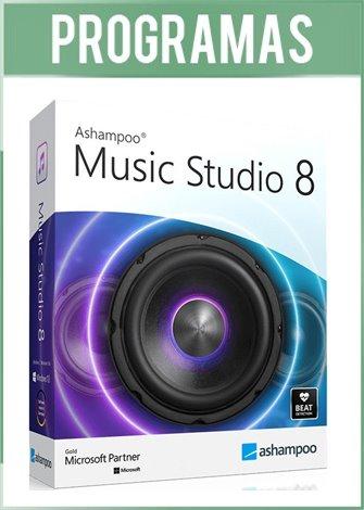 Ashampoo Music Studio Versión 8 Full Español