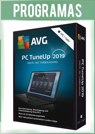 AVG PC TuneUp 2019 Español Versión 19.1