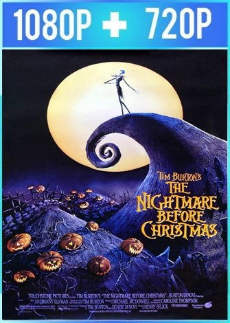 The Nightmare Before Christmas (1993) HD 1080p y 720p Latino