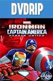 Iron Man y El Capitan America: Heroes Unidos DVDRip Latino