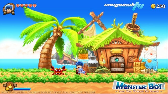 Wonder Boy revive en Monster Boy la secuela