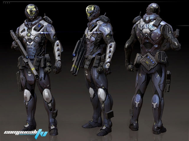 Soldados de BlueStreak imagen conceptual