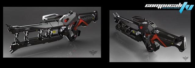 armas de bluestreak imagen conceptual