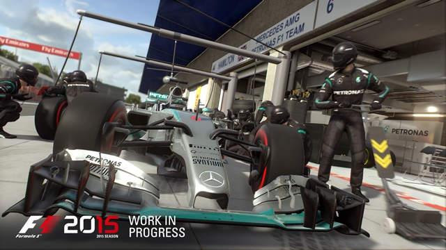 F1 2015 Fecha oficial de Lanzamiento
