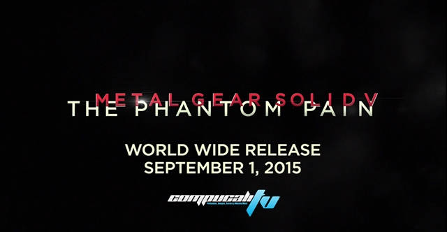Metal Gear Solid V The Phantom Pain Fecha de Lanzamiento