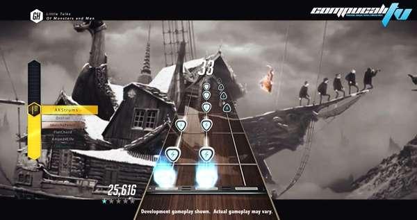 Se nos viene Guitar Hero Live, con alucinante guitarra.
