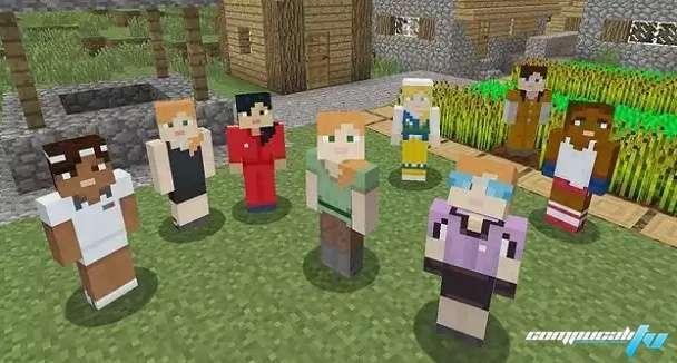 Minecraft presenta avatar femenimo.