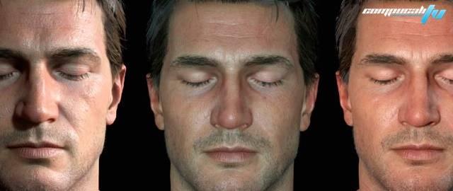 Uncharted 4 Thief's End y sus impresionantes animaciones faciales.