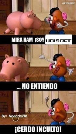Toy Story se burla de Ubisoft