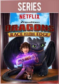 Dragones: Carrera al borde Serie Completa HD 720p Latino Dual