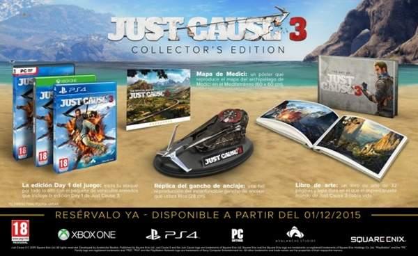 La Edición para Coleccionistas de Just Cause 3.
