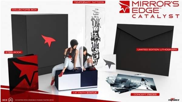 Lista la edición de colección de Mirror's Edge Catalyst.