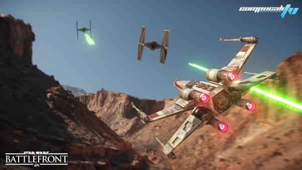 Star Wars: Battlefront ya tiene las armas y naves en pruebas