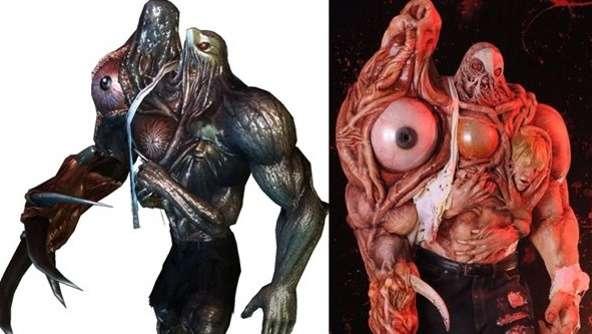 Crean espeluznante y asqueroso cosplay de Resident Evil 2