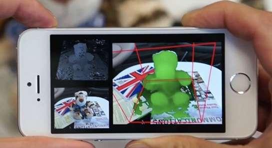 MobileFusion de Microsoft: Convierte tu movil en un escaner 3D.