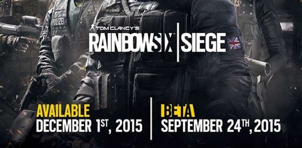 Rainbow Six: Siege: Lanzamiento postergado para el 1 de diciembre.