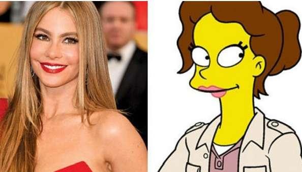 Sofía Vergara da voz a la nueva maestra de Bart en los Simpsons