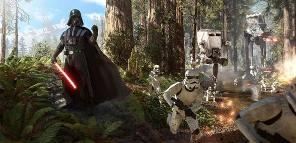Star Wars Battlefront presenta el modo Supremacy.