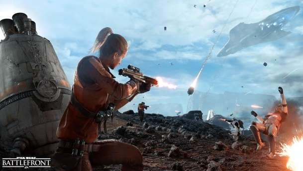 EA anuncia modo Drop Zone para Star Wars: Battlefront.
