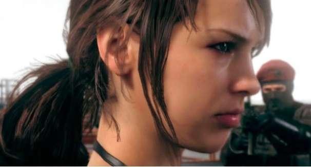Metal Gear Solid V: The Phantom Pain. Quiet podría arruinar tu juego.