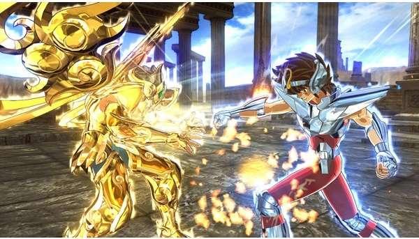 Saint Seiya Soldiers' Soul estrena nuevo gameplay.