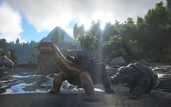 ARK Survival Evolved añade la posibilidad de criar dinosaurios.