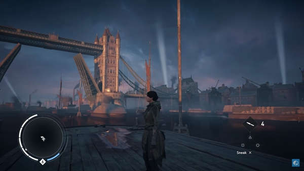 Assassin's Creed: Syndicate tiene una zona oculta en Londres.