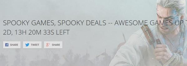 GOG lanza increíbles descuentos por Halloween.