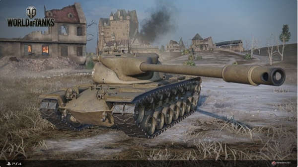 Beta de World of Tanks PS4 estará disponible del 4 al 6 de diciembre.