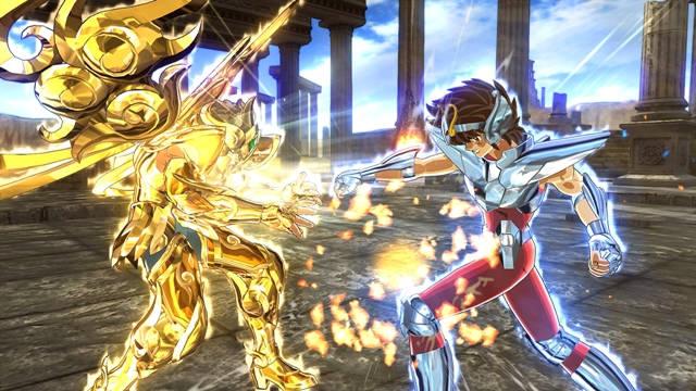 Saint Seiya: Soldiers Soul Versión para PC saldrá a finales de noviembre.