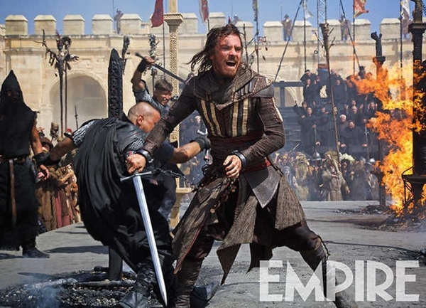 Assassin's Creed: Nuevas imágenes de Michael Fassbender en acción.
