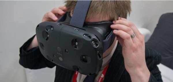 HTC confirma disponibilidad de lentes VIVE para Abril del 2016