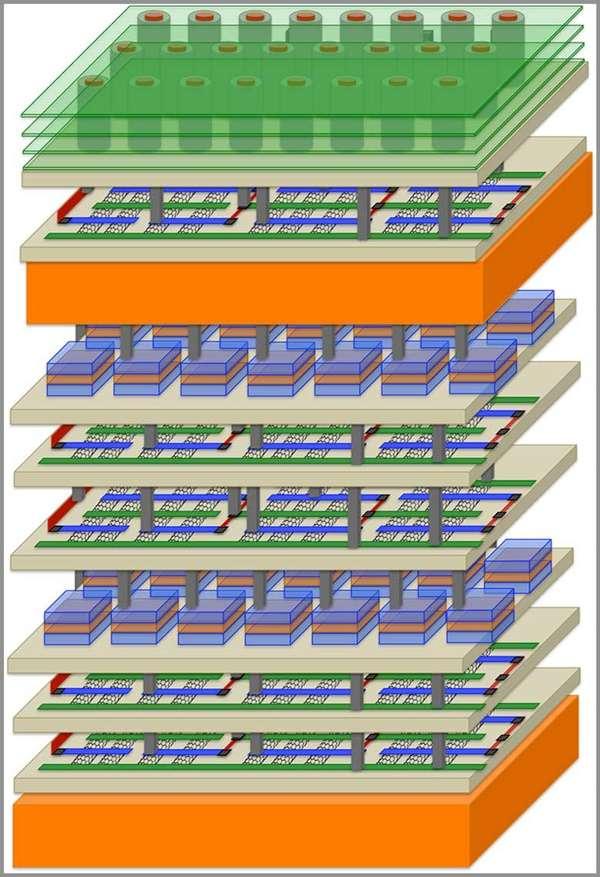 Nuevo nano-chip multiplica por 1000 la potencia de los Ordenadores.