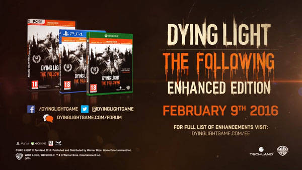 Dying Light Enhanced Edition listo para su distribución