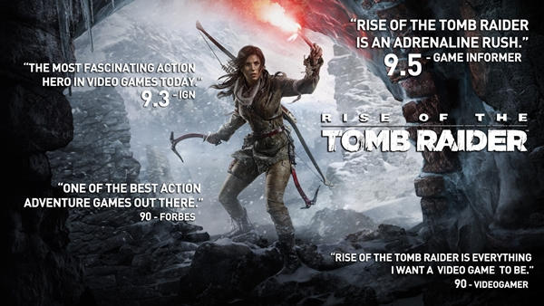 Rise of the Tomb Raider para PC: Conoce sus características gráficas.